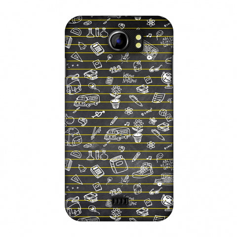 School Memories - Collage - Black Slim Hard Shell Case For Micromax Canvas 2 A110