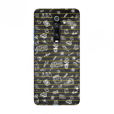School Memories - Collage - Black Slim Hard Shell Case For Redmi K20/K20 Pro