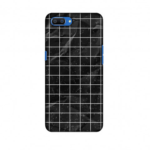 Mathematics Graph Book Slim Hard Shell Case For Oppo Realme C1