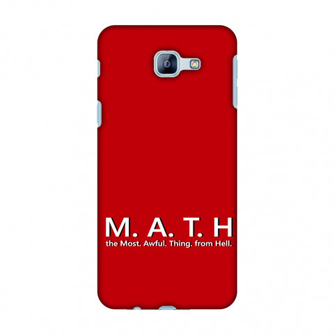 M.A.T.H. Slim Hard Shell Case For Samsung Galaxy A8 2016