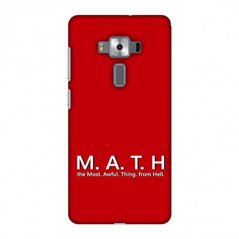 M.A.T.H. Slim Hard Shell Case For Asus Zenfone 3 Deluxe ZS570KL