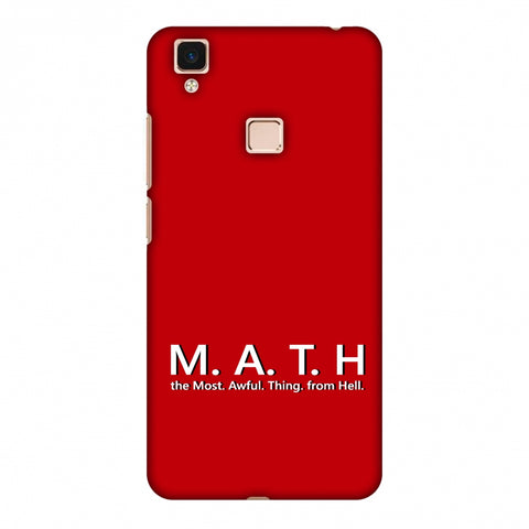 M.A.T.H. Slim Hard Shell Case For Vivo V3 Max