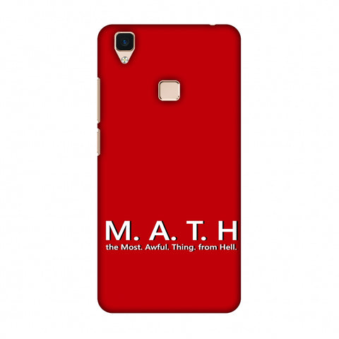 M.A.T.H. Slim Hard Shell Case For Vivo V3