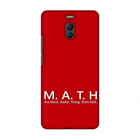 M.A.T.H. Slim Hard Shell Case For Meizu Note 6