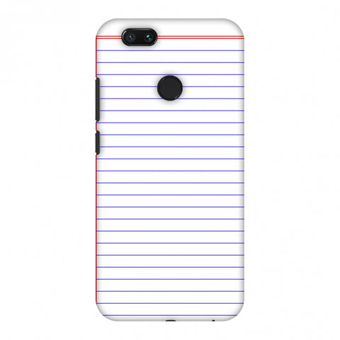 Notebook - Back To School Slim Hard Shell Case For Xiaomi MI A1-5X