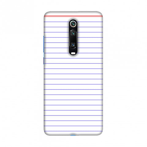 Notebook - Back To School Slim Hard Shell Case For Redmi K20/K20 Pro