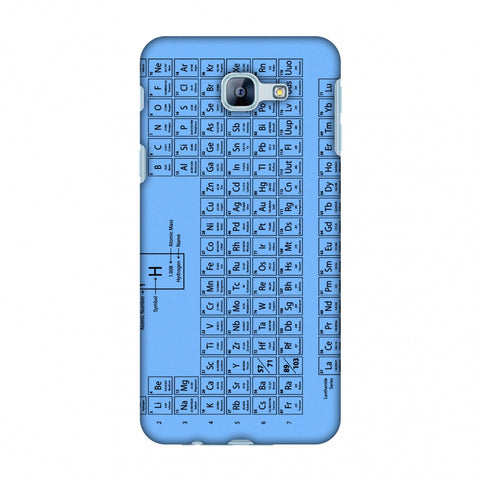 The Periodic Table Slim Hard Shell Case For Samsung Galaxy A8 2016