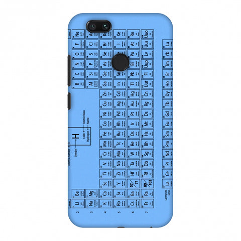 The Periodic Table Slim Hard Shell Case For Xiaomi MI A1-5X
