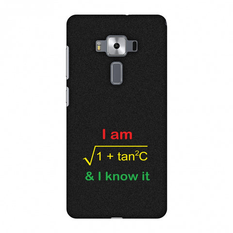 I Am Sec C! Slim Hard Shell Case For Asus Zenfone 3 Deluxe ZS570KL