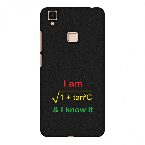 I Am Sec C! Slim Hard Shell Case For Vivo V3 Max