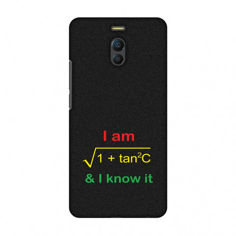 I Am Sec C! Slim Hard Shell Case For Meizu Note 6