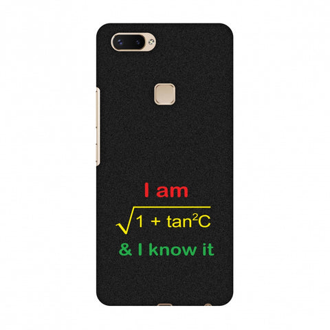 I Am Sec C! Slim Hard Shell Case For Vivo X20 Plus