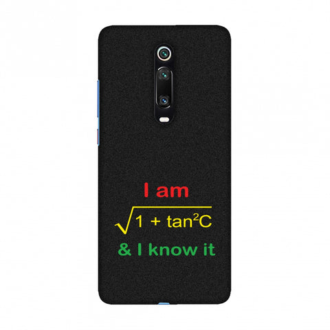 I Am Sec C! Slim Hard Shell Case For Redmi K20/K20 Pro