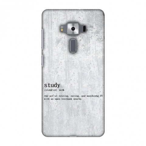 Study Definition Slim Hard Shell Case For Asus Zenfone 3 Deluxe ZS570KL