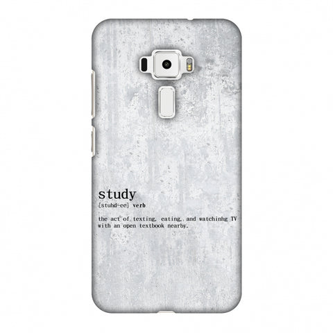 Study Definition Slim Hard Shell Case For Asus Zenfone 3 ZE520KL
