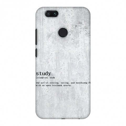 Study Definition Slim Hard Shell Case For Xiaomi MI A1-5X