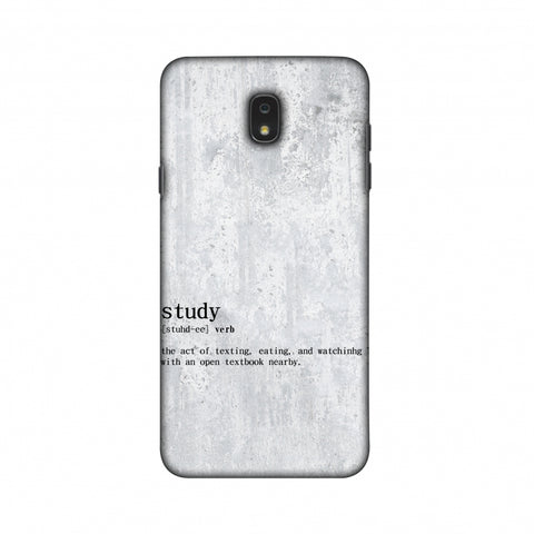 Study Definition Slim Hard Shell Case For Samsung Galaxy J7 2018