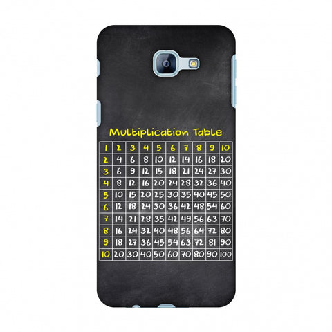 The Multiplication Table Slim Hard Shell Case For Samsung Galaxy A8 2016