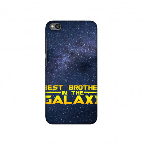 Best Brother In The Galaxy Slim Hard Shell Case For Redmi Go