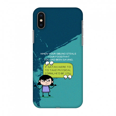 Stealing Sibling Slim Hard Shell Case For Apple iPhone X
