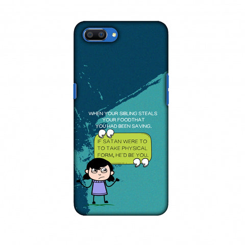 Stealing Sibling Slim Hard Shell Case For Oppo Realme C1