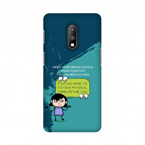 Stealing Sibling Slim Hard Shell Case For OnePlus 7