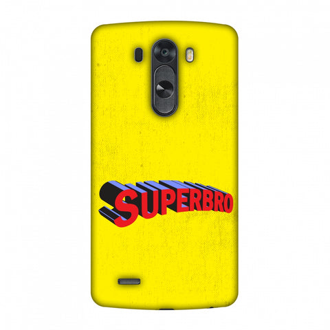 Super Bro Slim Hard Shell Case For LG G4