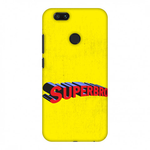 Super Bro Slim Hard Shell Case For Xiaomi MI A1-5X