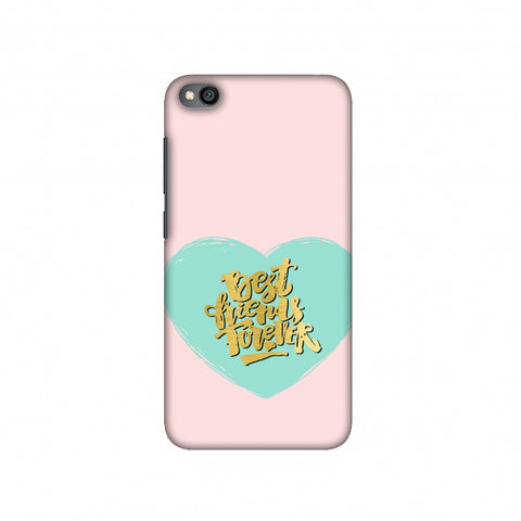 Best Friends Forever Slim Hard Shell Case For Redmi Go