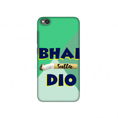 Bhai Sutta Dio Slim Hard Shell Case For Redmi Go