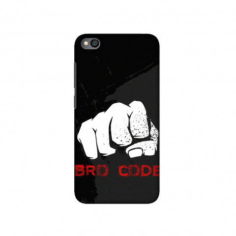 Bro Code Slim Hard Shell Case For Redmi Go