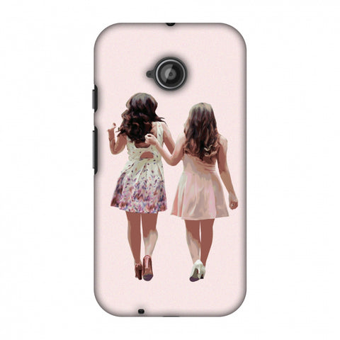 Chick Love Slim Hard Shell Case For Motorola Moto E 2nd Gen