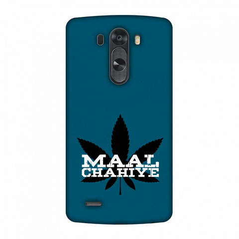Maal Chahiye! Slim Hard Shell Case For LG G4