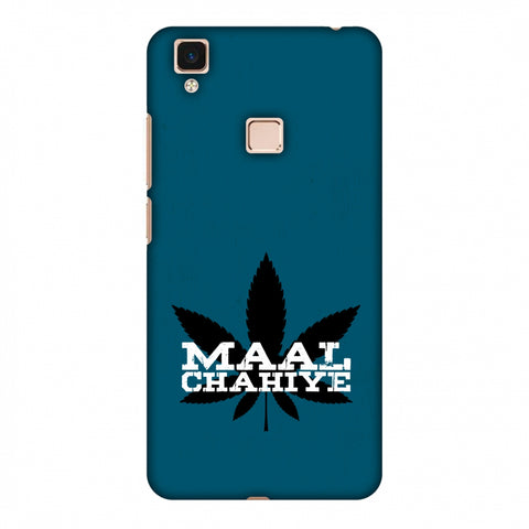 Maal Chahiye! Slim Hard Shell Case For Vivo V3 Max