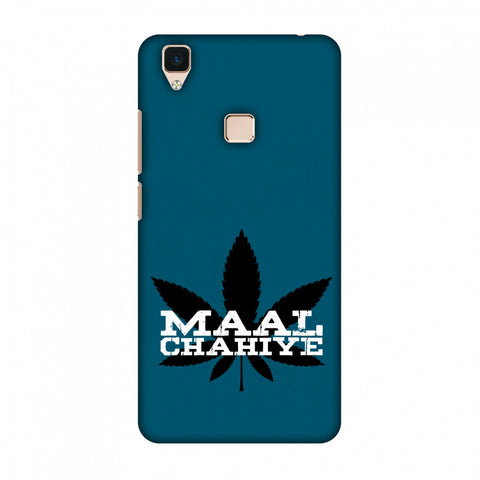 Maal Chahiye! Slim Hard Shell Case For Vivo V3