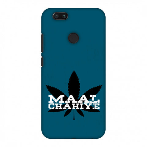 Maal Chahiye! Slim Hard Shell Case For Xiaomi MI A1-5X