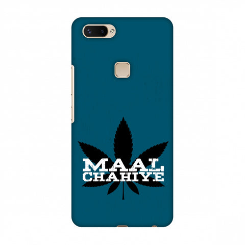 Maal Chahiye! Slim Hard Shell Case For Vivo X20 Plus