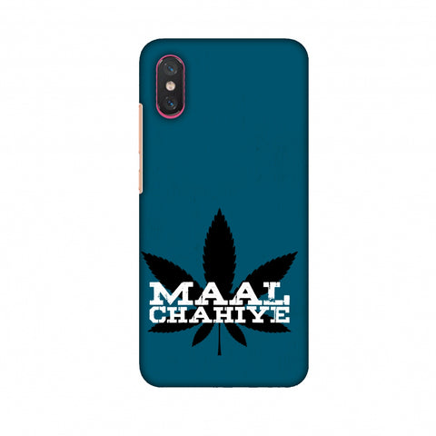Maal Chahiye! Slim Hard Shell Case For Xiaomi Mi 8 Pro