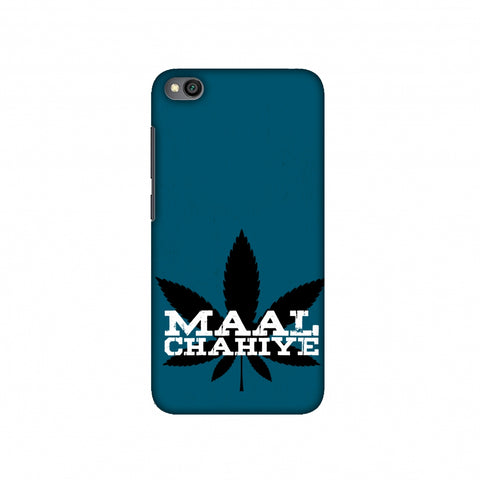 Maal Chahiye! Slim Hard Shell Case For Redmi Go