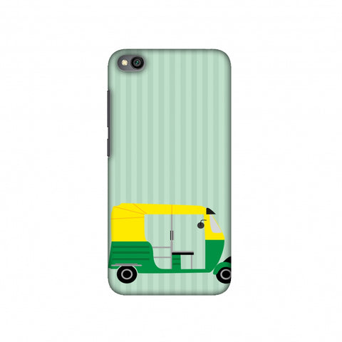 Auto Rikshaw Slim Hard Shell Case For Redmi Go
