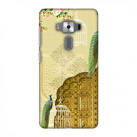 Dazzling Plumage Slim Hard Shell Case For Asus Zenfone 3 Deluxe ZS570KL