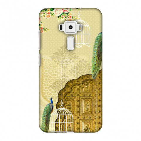 Dazzling Plumage Slim Hard Shell Case For Asus Zenfone 3 ZE520KL