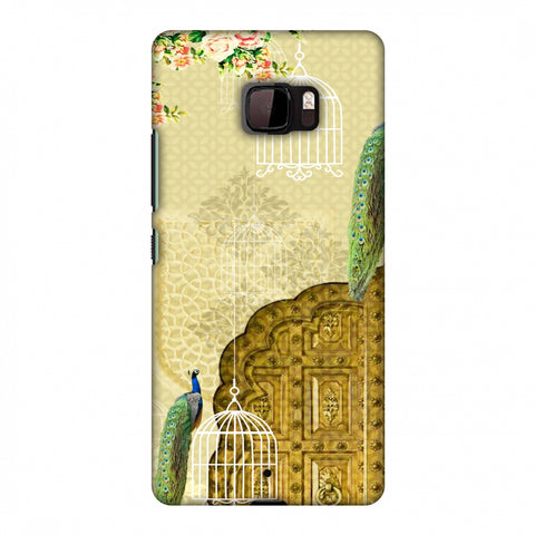 Dazzling Plumage Slim Hard Shell Case For HTC U Ultra
