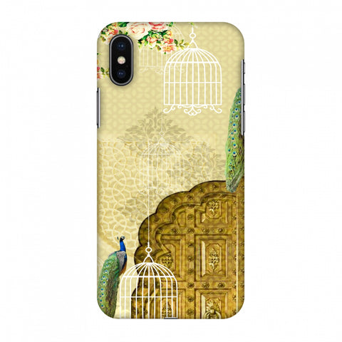 Dazzling Plumage Slim Hard Shell Case For Apple iPhone X