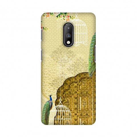 Dazzling Plumage Slim Hard Shell Case For OnePlus 7