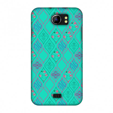 Eden Garden Slim Hard Shell Case For Micromax Canvas 2 A110
