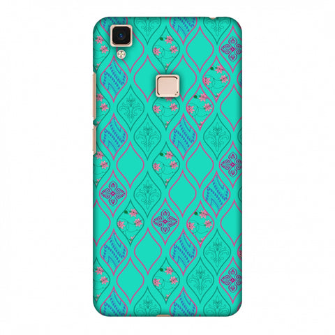 Eden Garden Slim Hard Shell Case For Vivo V3 Max