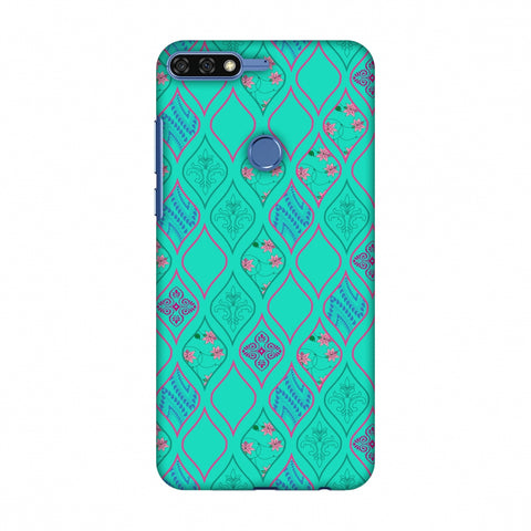 Eden Garden Slim Hard Shell Case For Huawei Honor 7C