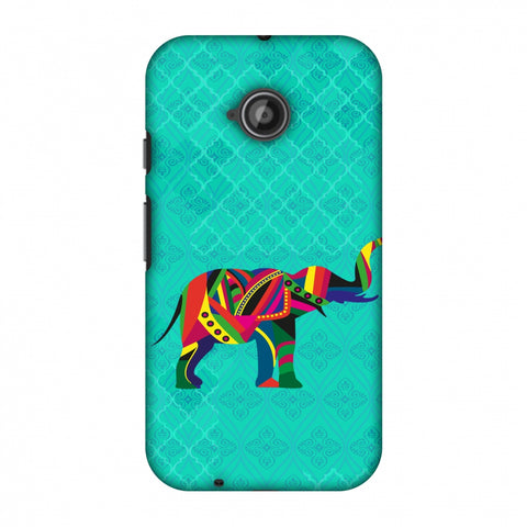 Elephant Parade Slim Hard Shell Case For Motorola Moto E 2nd Gen