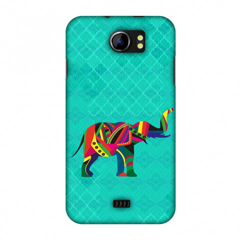 Elephant Parade Slim Hard Shell Case For Micromax Canvas 2 A110